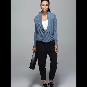 Lululemon Iconic Wrap Cashmere Boolux Blend Top 8